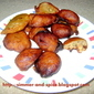 Meethe pakode ( Wheat and jaggery Sweet)