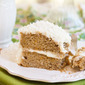 Orange Kissed Sweet Potato Cake with Coconut Cream Cheese Frosting