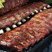 Braised Barbecue Pork Spareribs