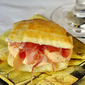 Red Pepper and Prosciutto Napoleons