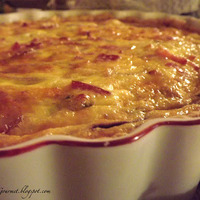 Eggstraordinary!! Grilled Onion & Bacon Tart!!!