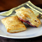 Brie Hazelnut and Blackberry Puffs