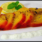 What's on the side? Roasted Golden Beets with Lemon and Mint Cream