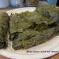 #172 Dolmathakia or Mini Stuffed Grape Leaves
