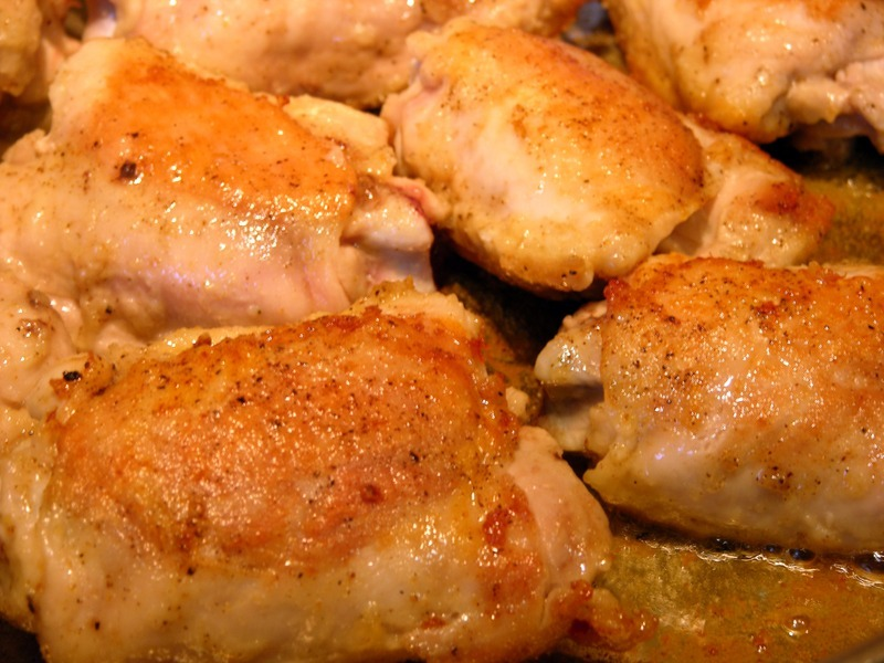 Any cut of chicken will work but if using breasts don't over cook or ...