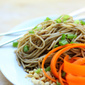 Quick Dinner: Garlicky Peanut Noodles with Crunchy Vegetables
