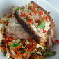 Five Spice Pork Belly with Pickled Vegetable Salad