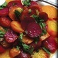 Sweet Roasted Beets with Herb Citrus Dressing