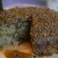 eggnog buckwheat crumble cake