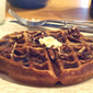 Almost-Famous Pecan Waffles from Food Network Magazine, December 2011