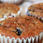 Blueberry oatmeal muffins: a recipe