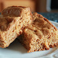 Apple Biscoff cookie bars: a recipe