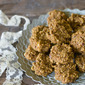 Vegan Sugar-free Spiced Carrot Cake Cookies