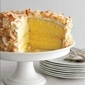 Lemon Coconut Layer Cake Recipe – Gourmet Magazine Recipe