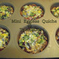 Mini Eggless Quiche