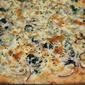 Three Cheese Alfredo Veggie Pan Pizza