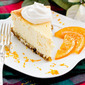 Orange Panettone Cheesecake