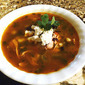 Spicy Chicken Posole Soup