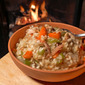 Fireside Turkey Risotto