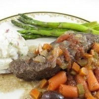 Fabulous Braised Short Ribs Provençal, Lovely for Christmas or Hanukkah