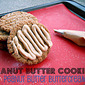 December's Secret Recipe Club - Peanut Butter Cookies w/ Peanut Butter Buttercream