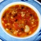 Mixed Bean Soup with Andouille or Ham (A Gift in Jar Holiday Idea)