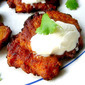 Sweet Potato Latkes & a Hanukkah Giveaway!