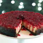 Cranberry Cheesecake with a Gingersnap and Cranberry Crust from PBS Chef Christy Rost