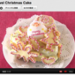 Pink Jewel Christmas Cake - Video Recipe