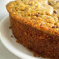 Eggless Cinnamon Choco Chip Banana Bread