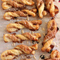 Cinnamon Sparkled Pastry Stix with Egg Nog Glaze