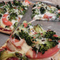 Garden Fresh Broccoli Pizza