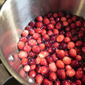 Homemade Cranberry Simple Syrup