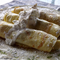 Image of Crepes With Apples & Prunes!!! Recipe, Cook Eat Share