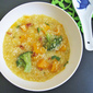 Kabocha Squash Millet Congee 日本南瓜小米粥