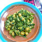 Gluten-Free Curried Spinach and Chickpeas For a January Detox!