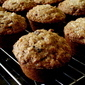 Whole Wheat Oatmeal Raisin Muffins