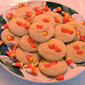 Candy Corn Sugar Cookies - Martha