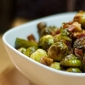 Brussels Sprouts with Bacon, Walnuts and Balsamic Vinegar Recipe