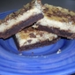 Toffe Chip Cheesecake Bars