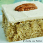 Banana Cake with Browned Butter Maple Frosting