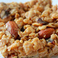 Detox January, Week 1: Peanut Butter-Oatmeal Breakfast Bars
