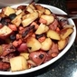 Roasted Potatoes, Carrots, and Onions