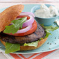 Atkins Burgers with Blue Cheese
