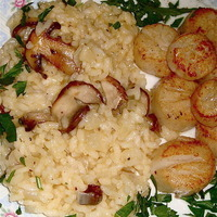Easy Risotto & Gourmet Mushrooms