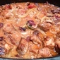 Slow-Roasted Pork Stew with Fennel, Tomatoes, and Olives