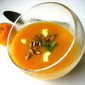 Butternut Squash Soup w/ Orange Zest & Spicy Pepitas