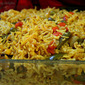 Curried Veg Pulav (Veg Pilaf)