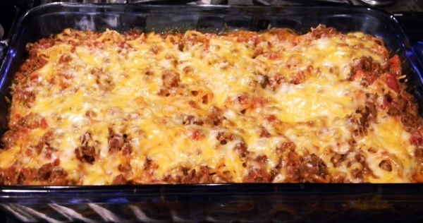 Baked Spaghetti Casserole Recipe by Eric Young/Max Brand ...