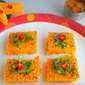Dhokla Recipe / Tomato Dhokla | For Blog Hop Wednesdays